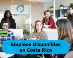 Empleos People Working Corp. Costa Rica