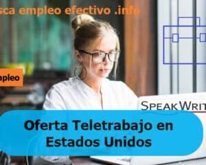 Ofertas empleo SpeakWrite
