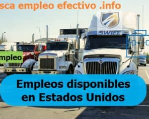 Ofertas empleo Swift Transportation